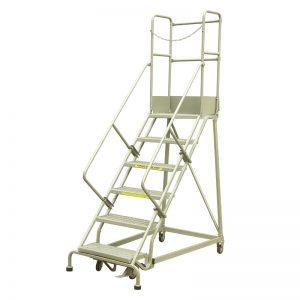 RLC354 industrial steel rolling ladders